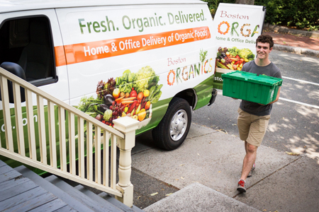 Organic Produce Delivery Driver with Warehouse Responsibilities
