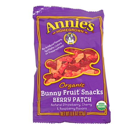 Annie's Berry Patch Organic Bunny Fruit Snacks 5-pack