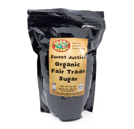 Dean's Beans Sweet Justice Organic Fair Trade Sugar