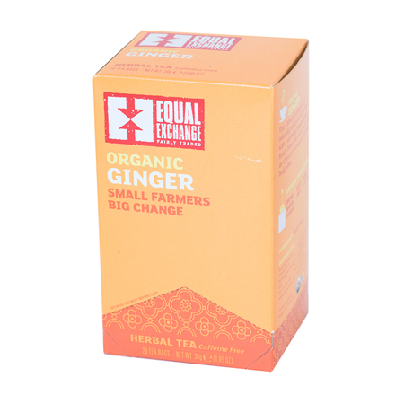 Equal Exchange Ginger Tea