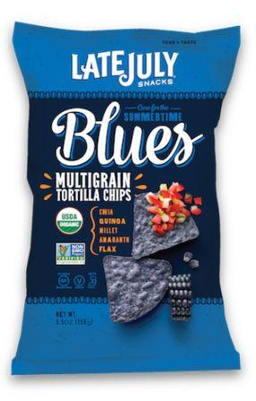 Late July Organic Multigrain Snack Chips - Blue Corn