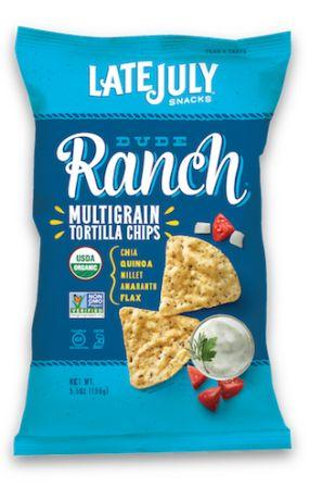 Late July Organic Multigrain Snack Chips - Dude Ranch