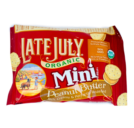 Late July Organic Mini Crackers - Peanut Butter 5-pack
