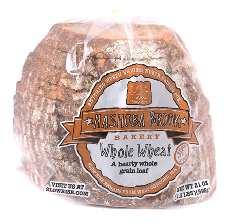 Nashoba Brook Whole Wheat Half Deli Sliced